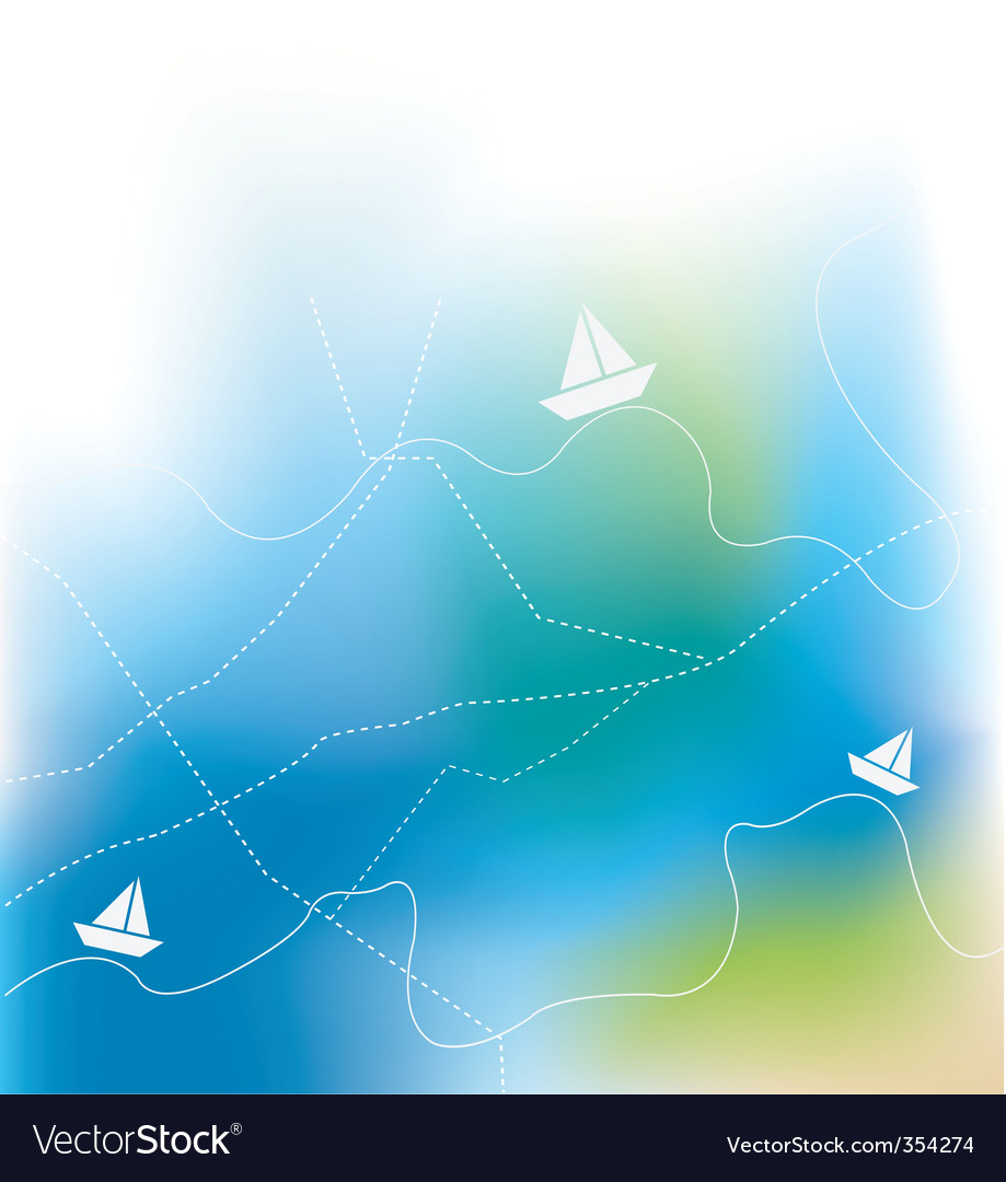G ship on sea vector vector | Price: 1 Credit (USD $1)