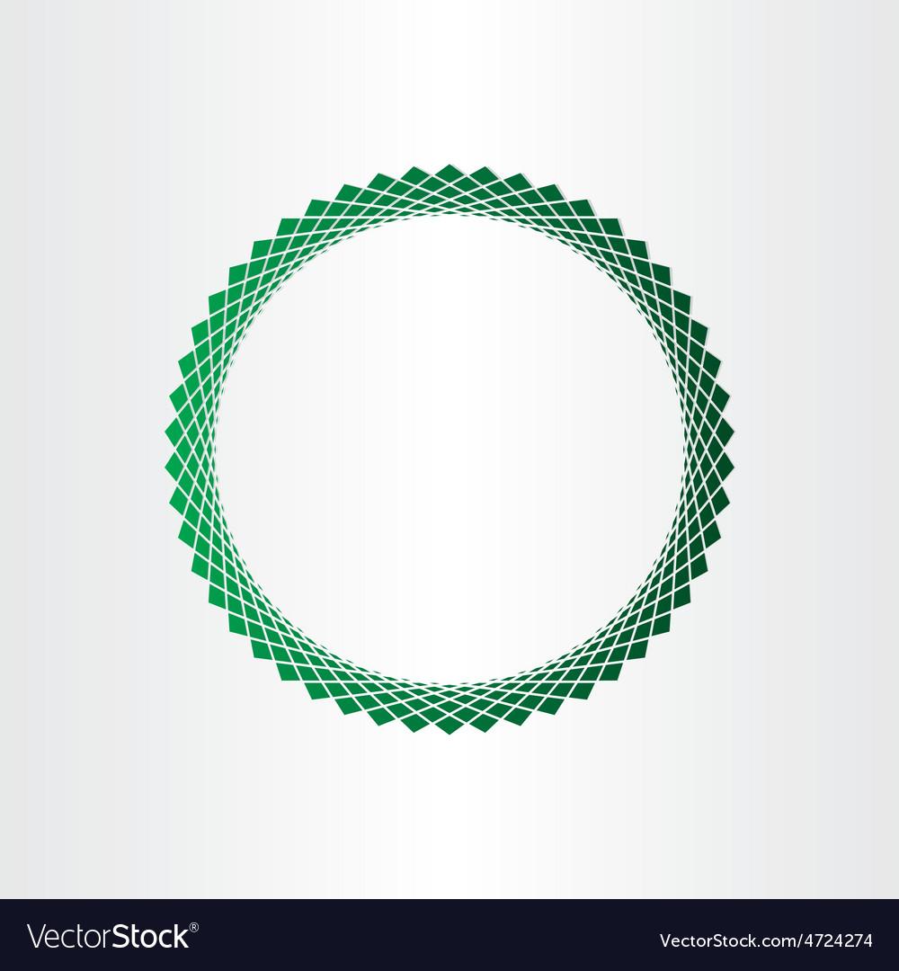 Green halftones circle background vector   Price: 1 Credit (USD $1)