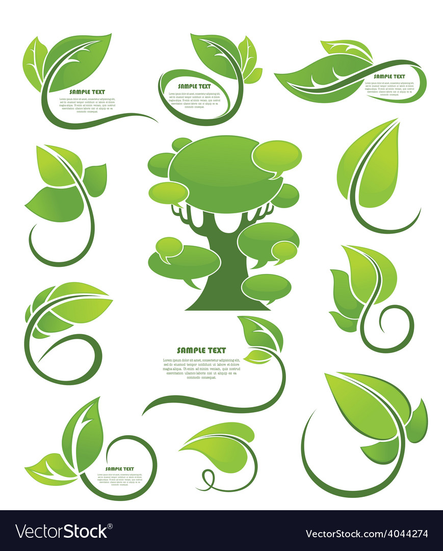 Nature collection vector | Price: 1 Credit (USD $1)