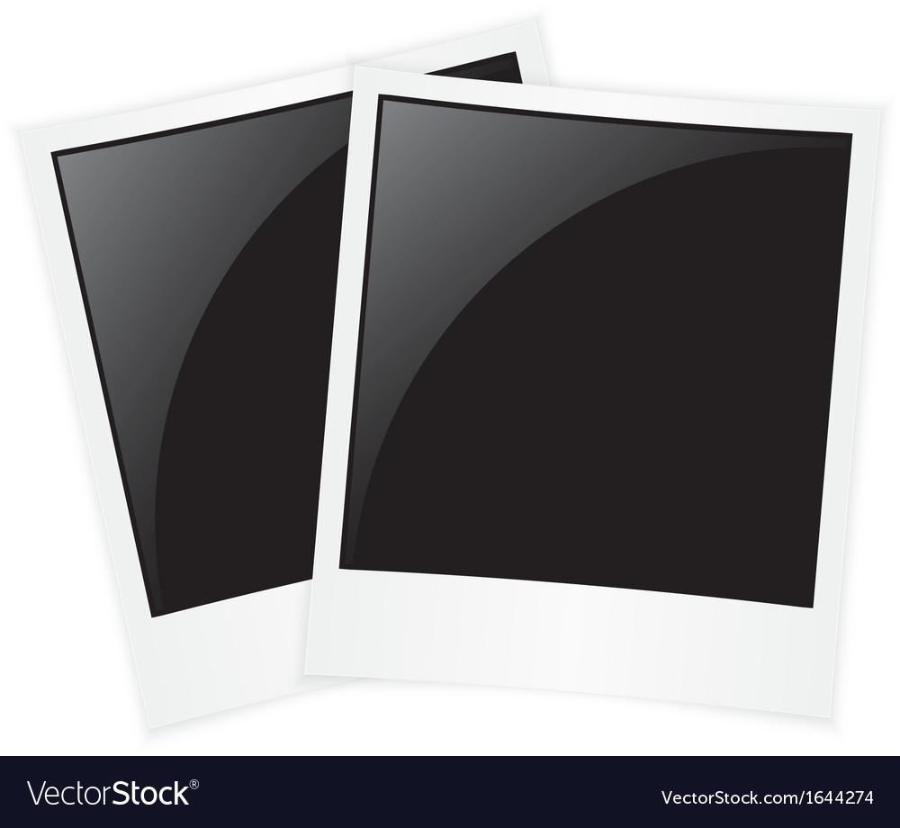 Polaroid photos vector | Price: 1 Credit (USD $1)