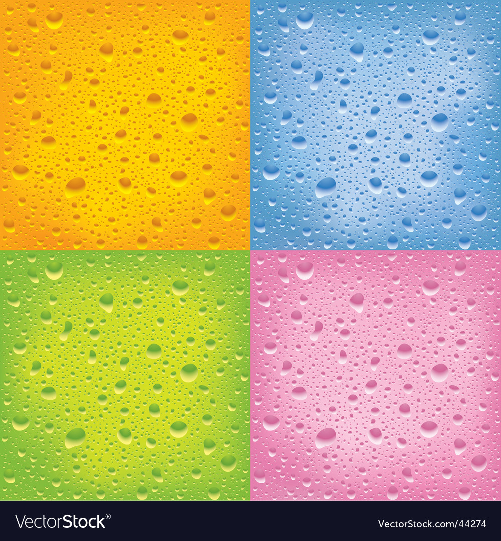 Set of wet surfaces vector | Price: 1 Credit (USD $1)