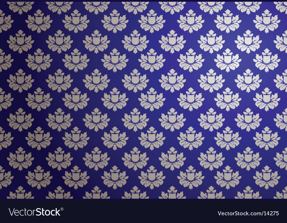 Blue and silver glamour pattern vector | Price: 1 Credit (USD $1)
