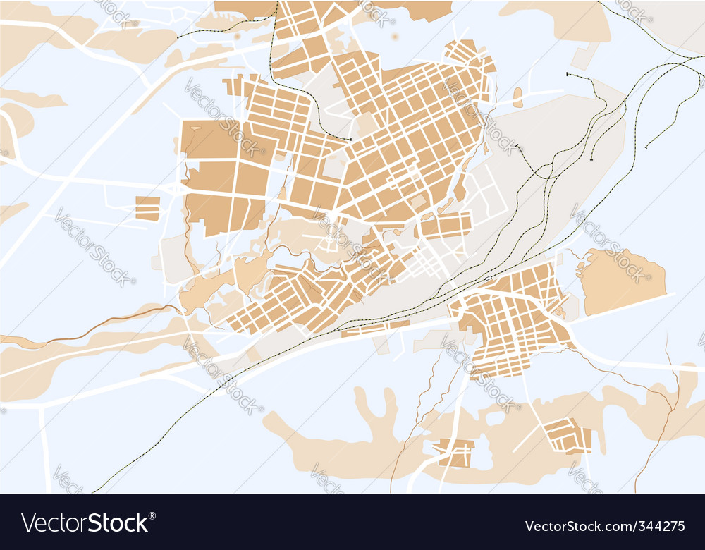 Generic map vector | Price: 1 Credit (USD $1)