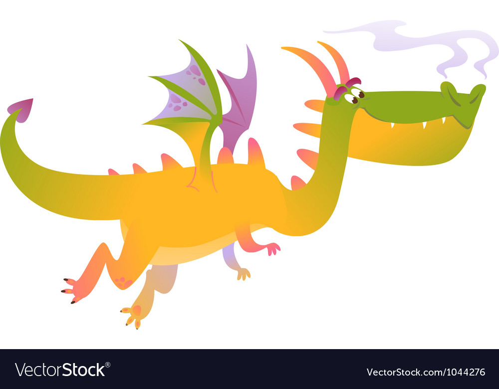 Cartoon dragon fly vector | Price: 1 Credit (USD $1)