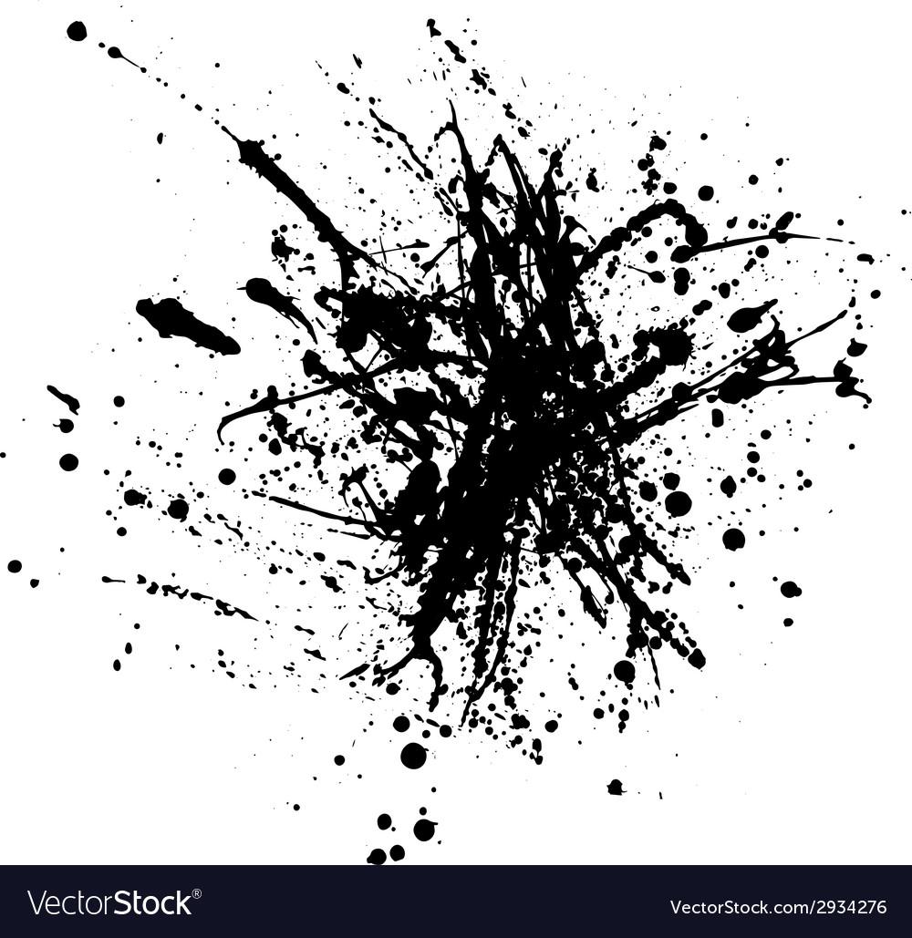 Ink splash vector | Price: 1 Credit (USD $1)