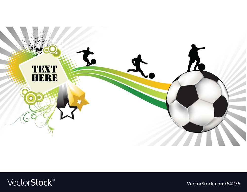 Soccer white vector | Price: 1 Credit (USD $1)