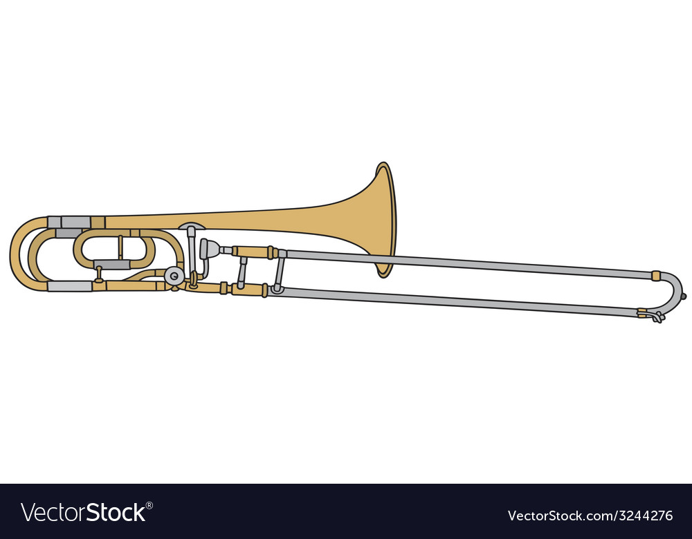 Trombone vector | Price: 1 Credit (USD $1)