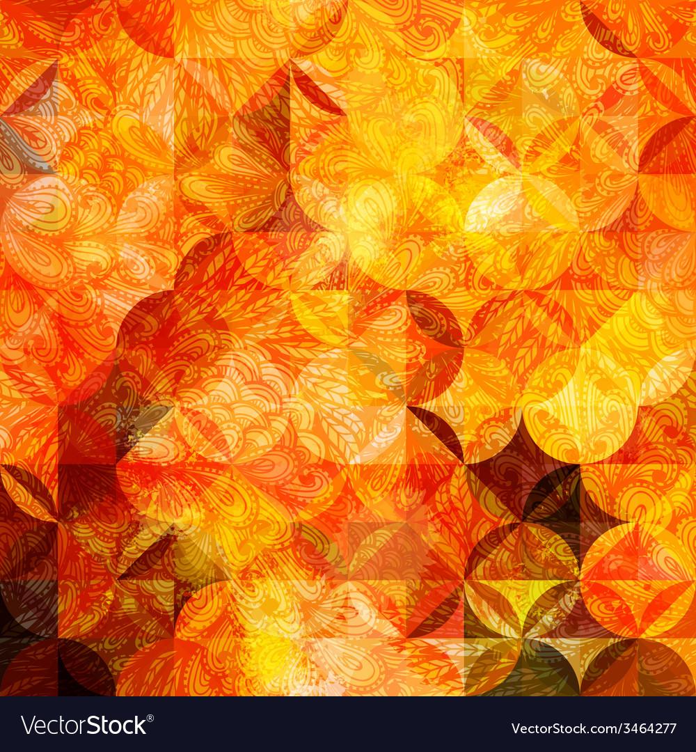 Grunge orange pattern vector | Price: 1 Credit (USD $1)