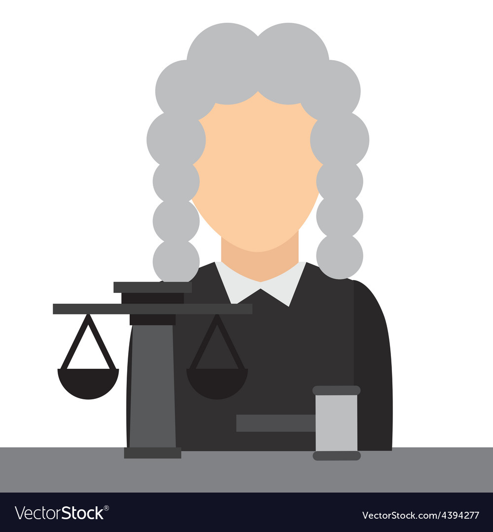 Judge job vector | Price: 1 Credit (USD $1)