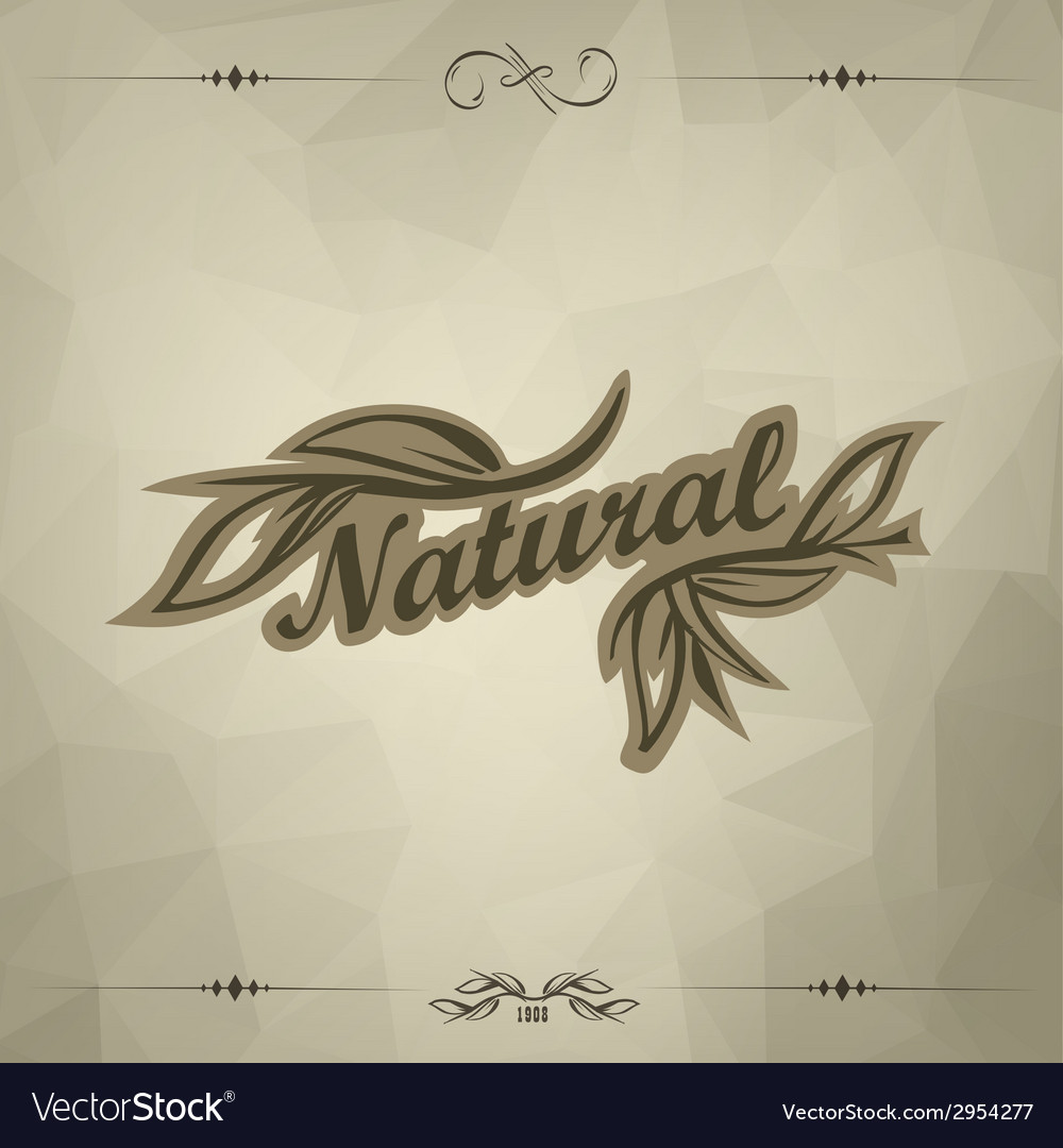 Vintage triangular dark background vector | Price: 1 Credit (USD $1)