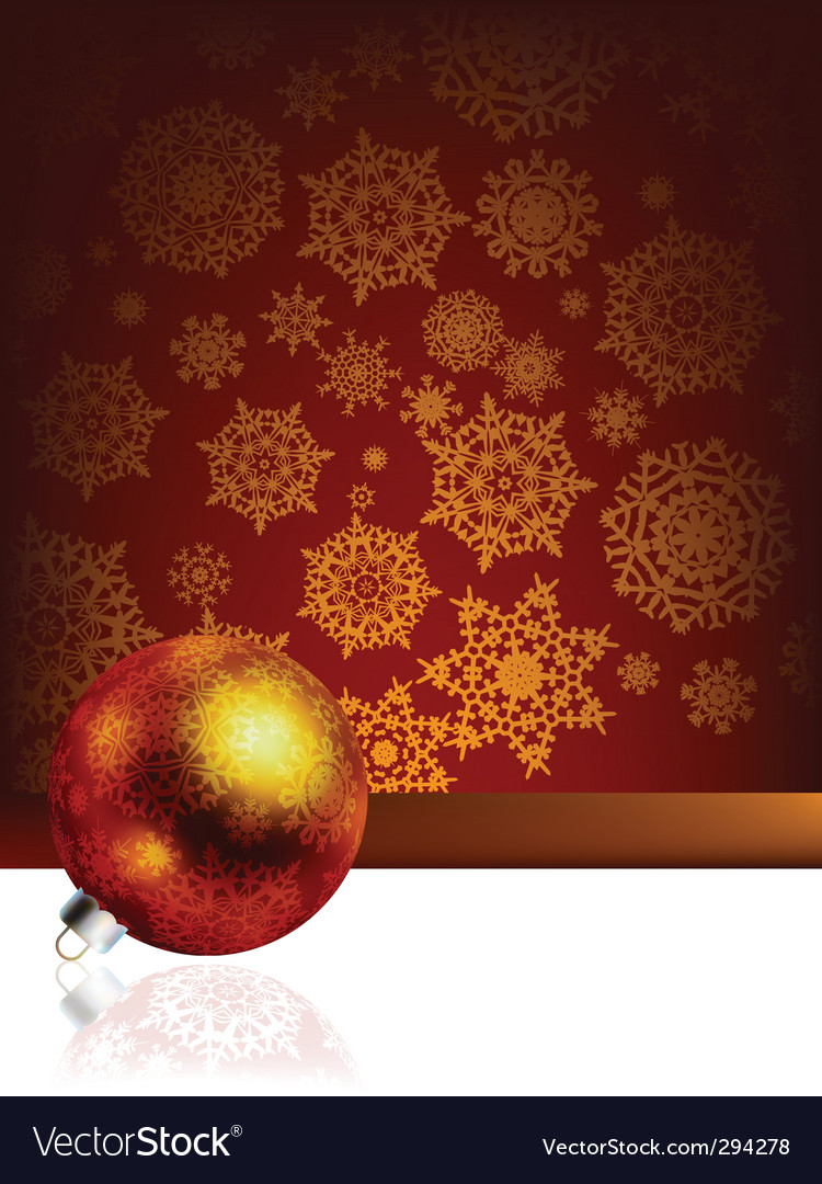 Elegant christmas vector | Price: 1 Credit (USD $1)