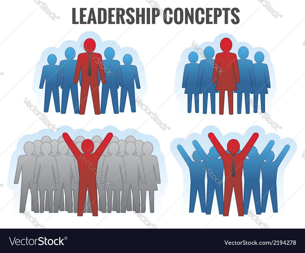Leadership concepts vector | Price: 1 Credit (USD $1)