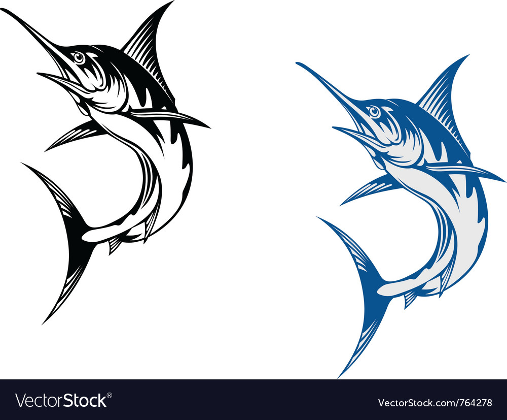 Marlin vector | Price: 1 Credit (USD $1)