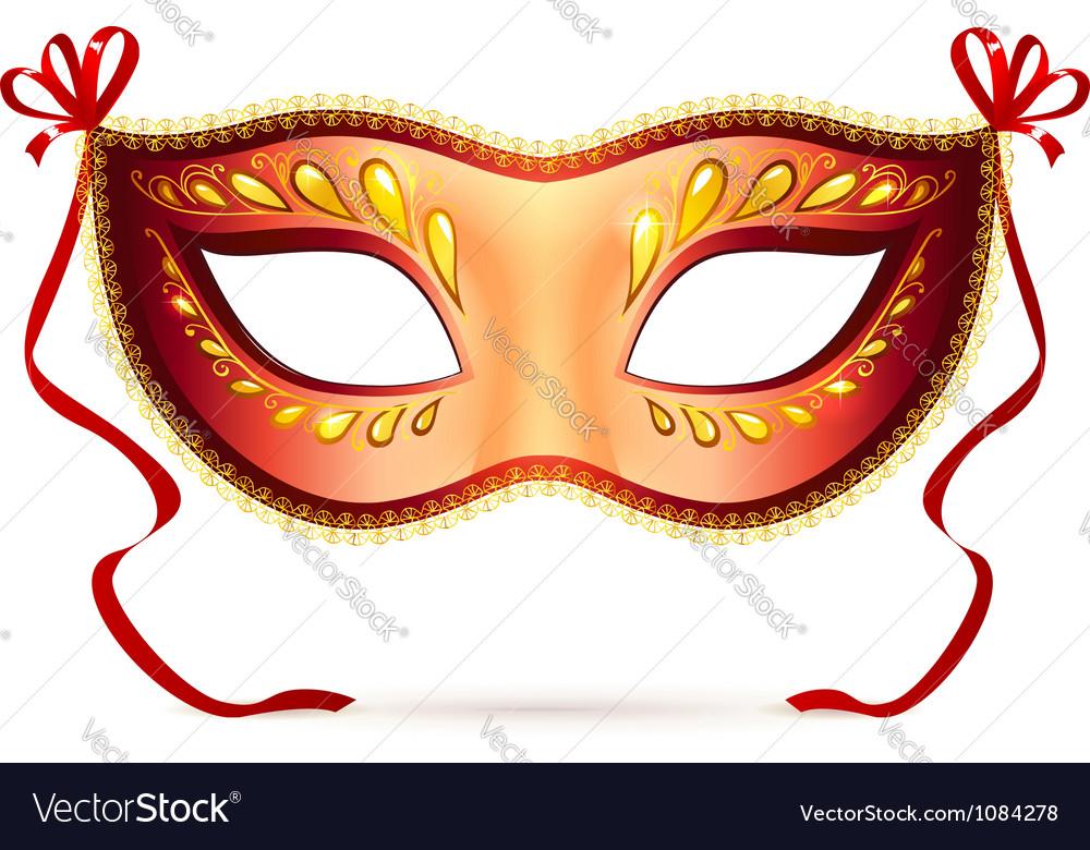 Venitian carnival mask vector | Price: 1 Credit (USD $1)