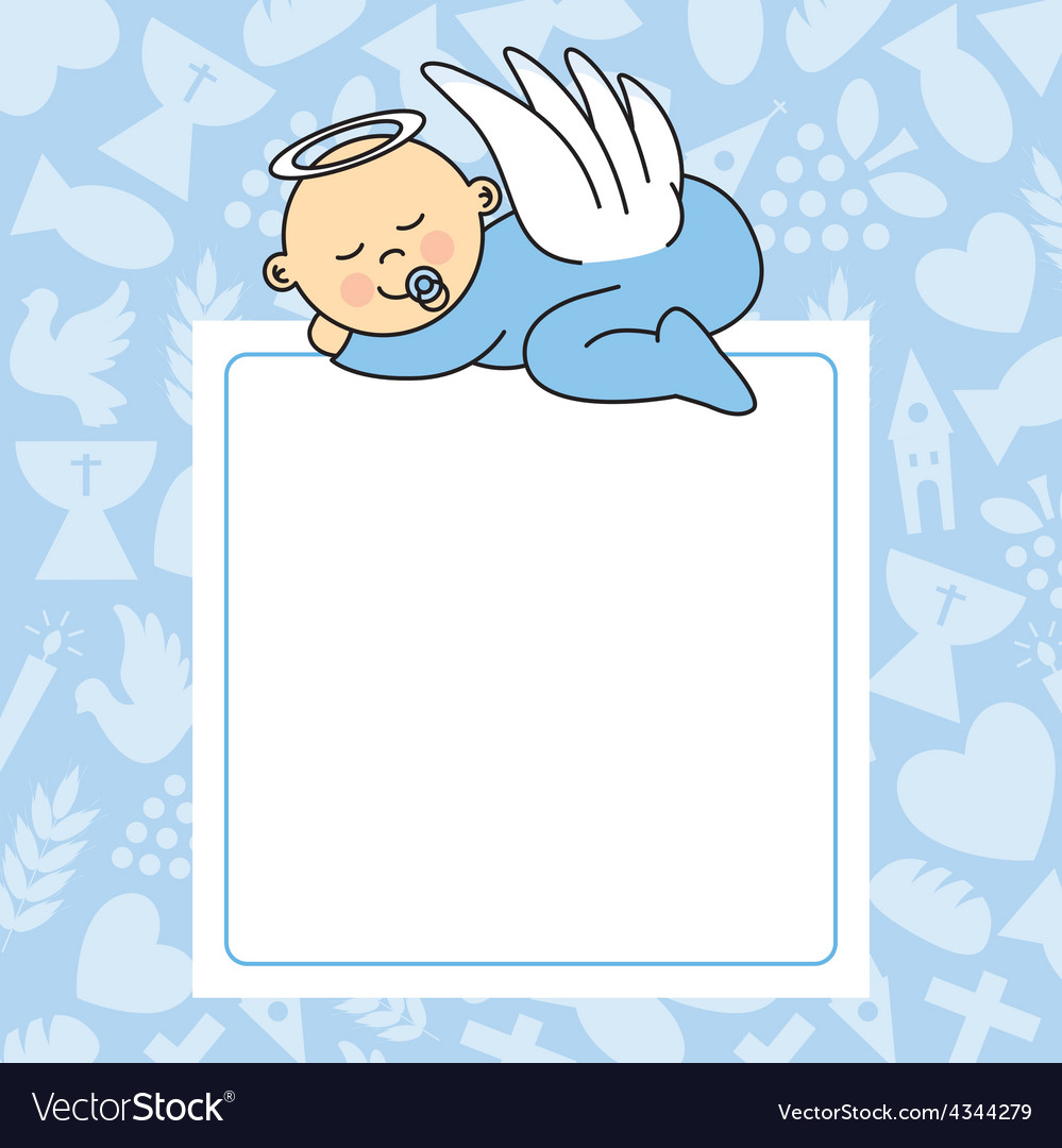 Baby boy sleeping vector | Price: 1 Credit (USD $1)