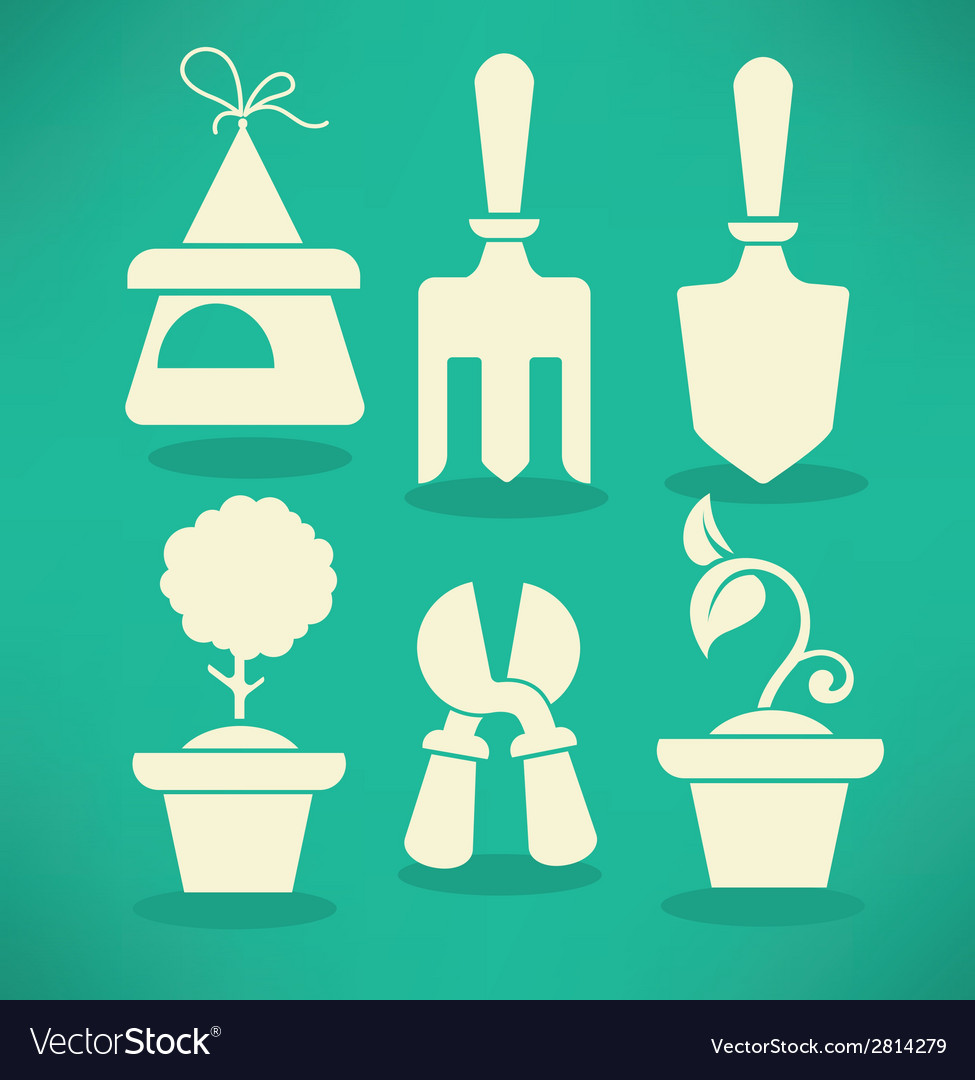 Garden collection vector | Price: 1 Credit (USD $1)