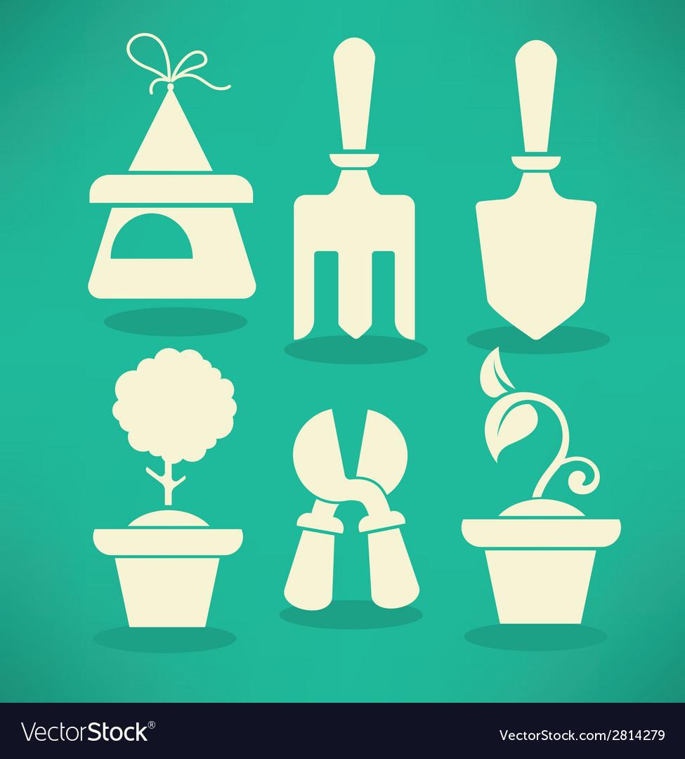 Garden collection vector | Price: 1 Credit (USD $1)
