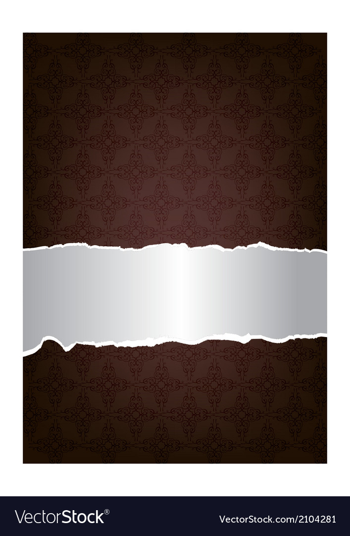 Brown decorative background vector | Price: 1 Credit (USD $1)