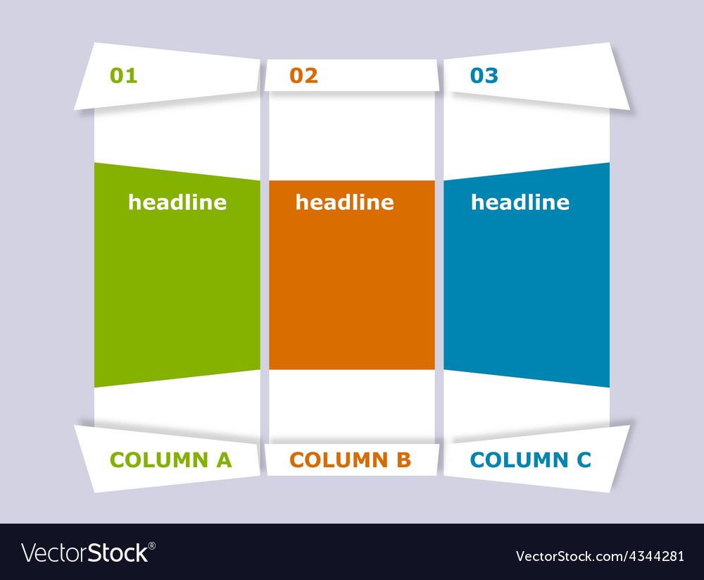 Creative columns vector   Price: 1 Credit (USD $1)