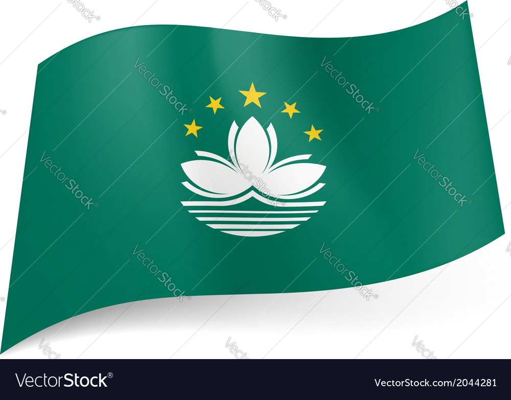 Flag of macau vector | Price: 1 Credit (USD $1)