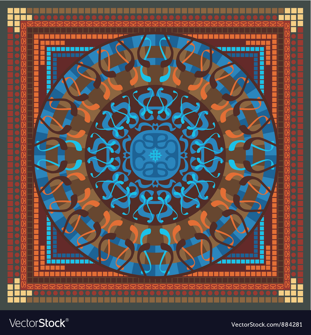 Mandala pattern vector   Price: 1 Credit (USD $1)