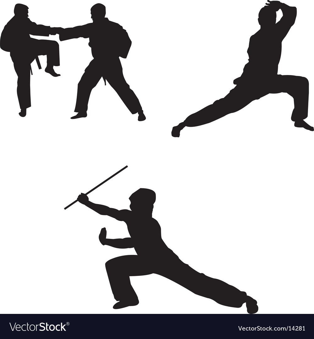 Martial arts vector | Price: 1 Credit (USD $1)