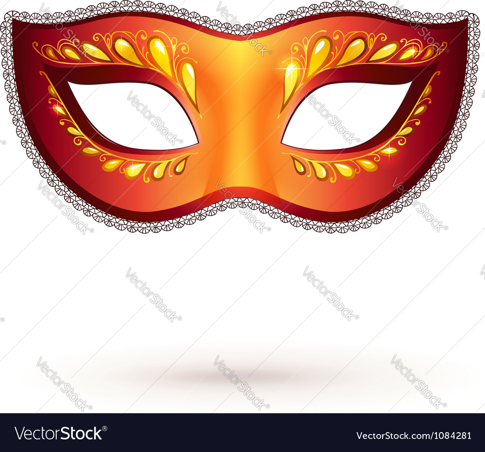 Venitian carnival mask vector | Price: 1 Credit (USD $1)