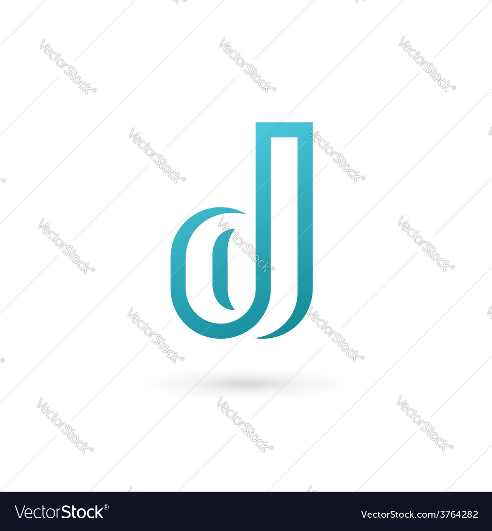 Letter d logo icon design template elements vector | Price: 1 Credit (USD $1)