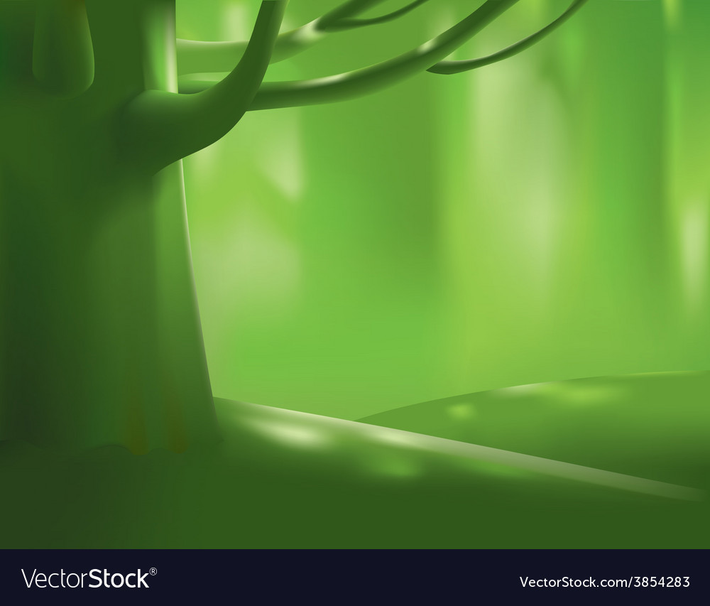 Deep forest tree vector | Price: 1 Credit (USD $1)