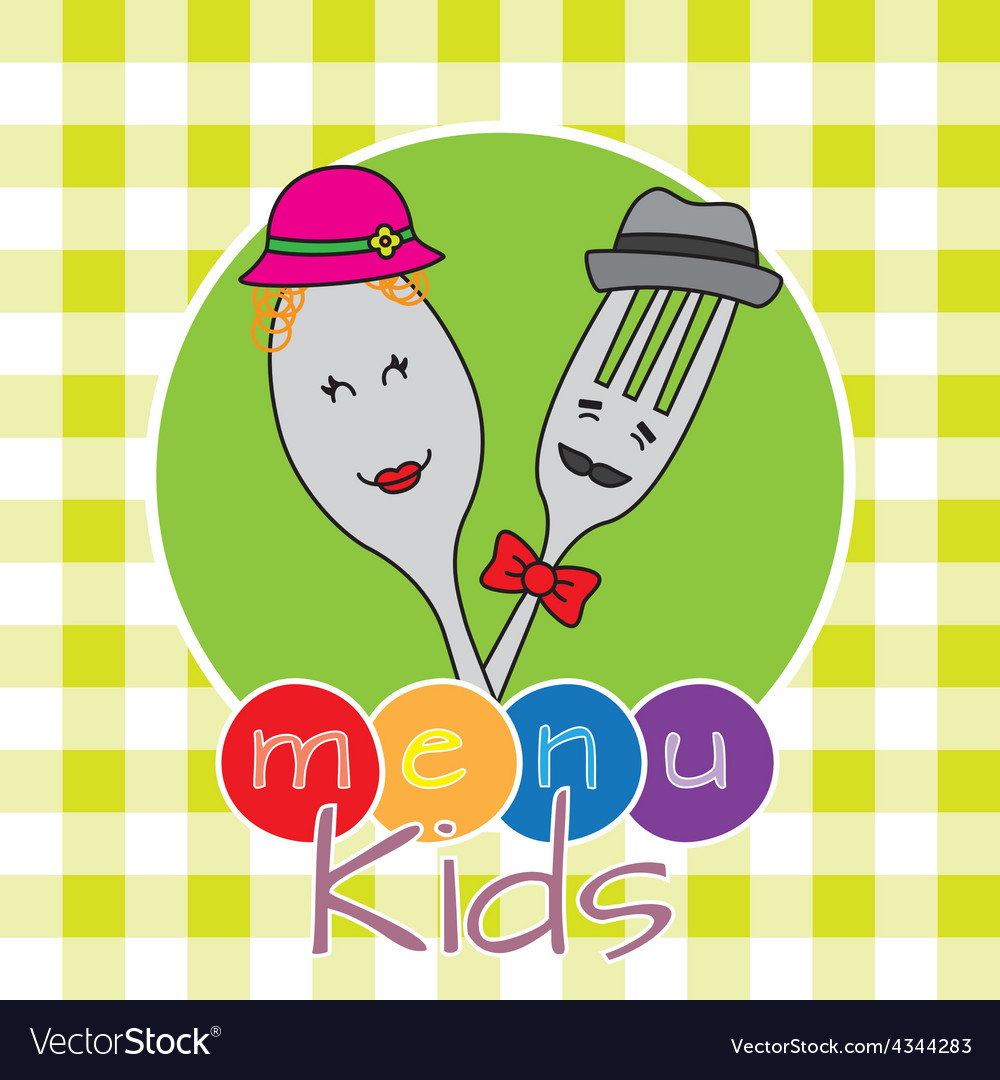 Menu kids vector | Price: 1 Credit (USD $1)