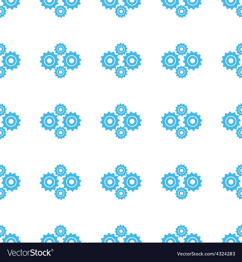 Unique mechanism seamless pattern vector | Price: 1 Credit (USD $1)