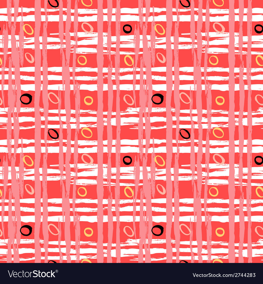 Vintage striped pattern with brushed lines vector   Price: 1 Credit (USD $1)