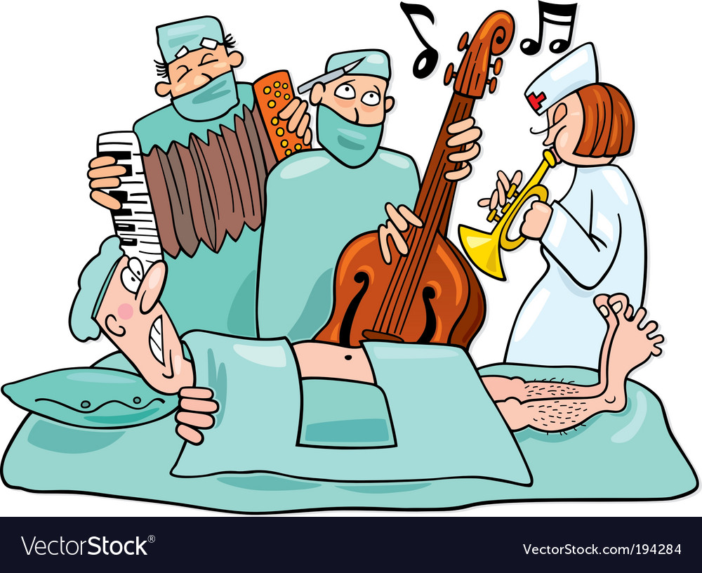 Crazy surgeons operation band vector | Price: 3 Credit (USD $3)