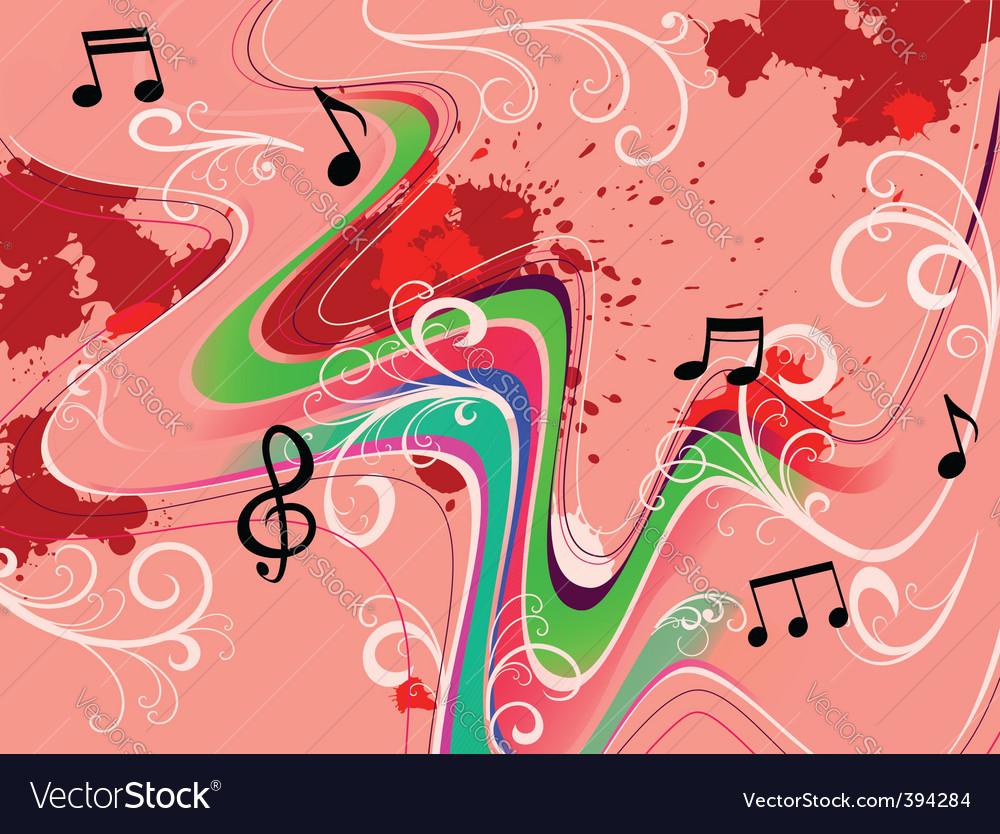 Music grunge vector | Price: 1 Credit (USD $1)