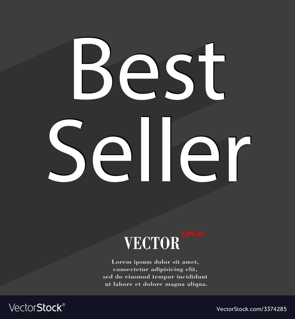 Best seller icon symbol flat modern web design vector | Price: 1 Credit (USD $1)