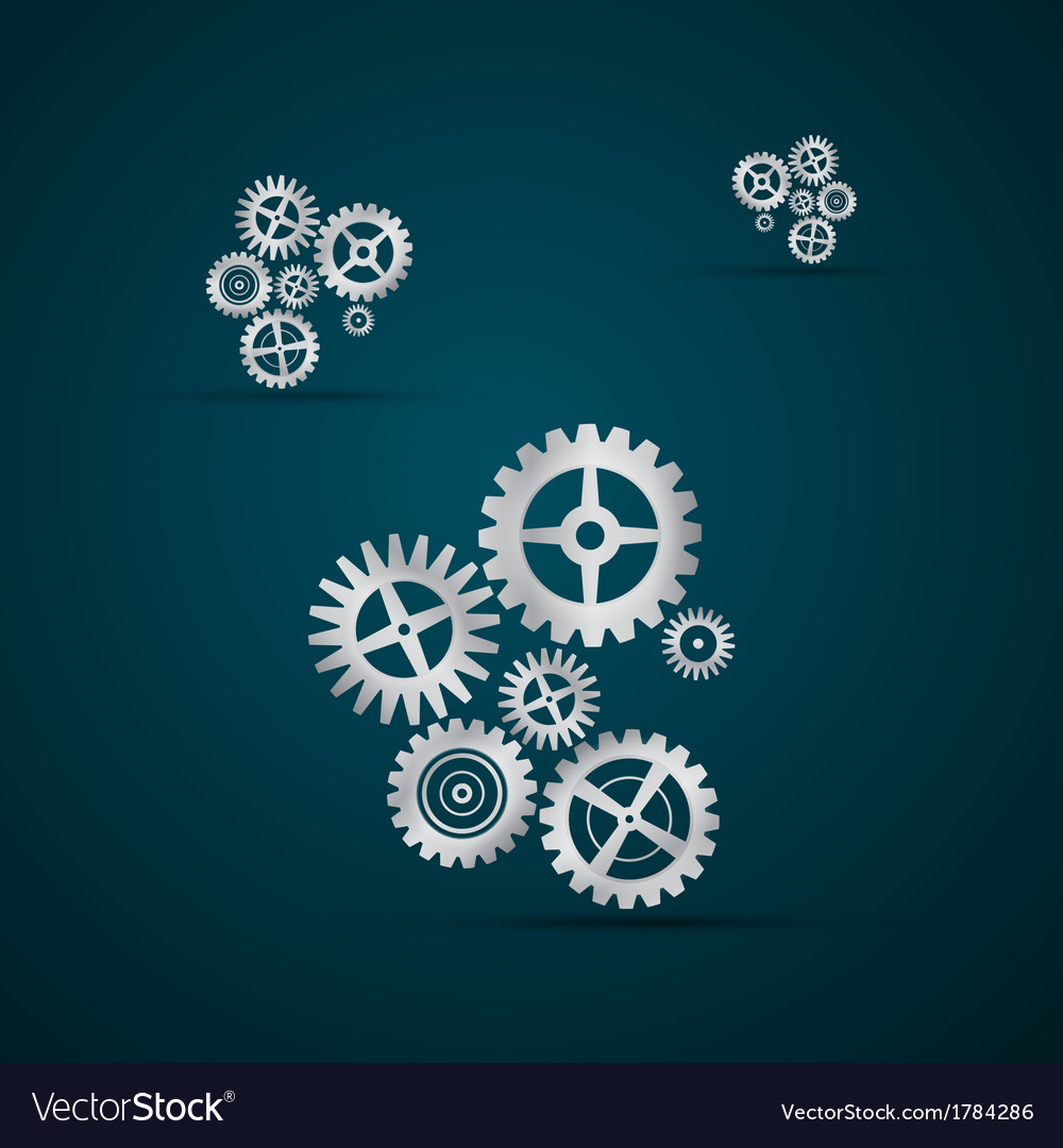 Abstract cogs - gears vector | Price: 1 Credit (USD $1)
