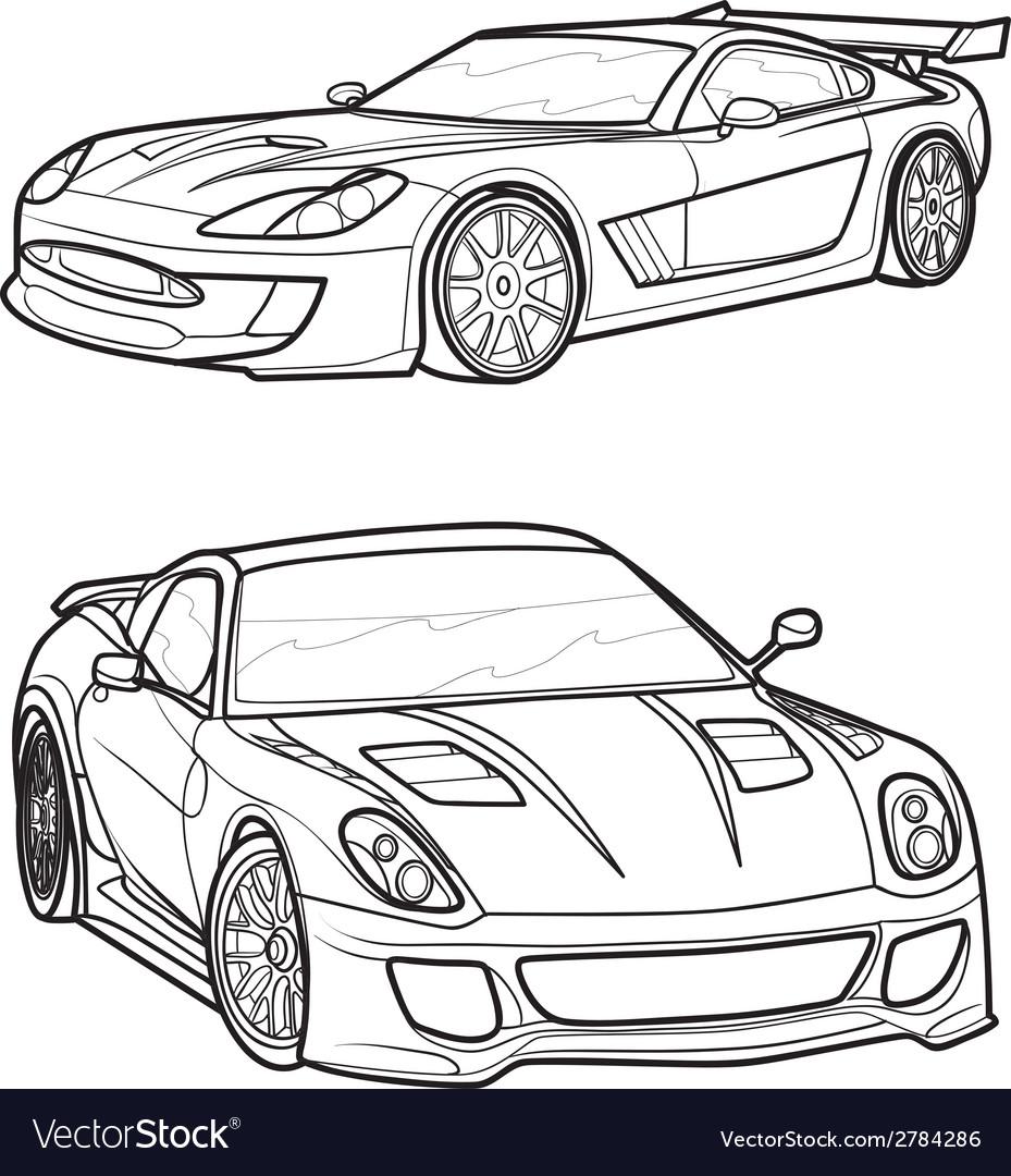 Car8 vector | Price: 1 Credit (USD $1)