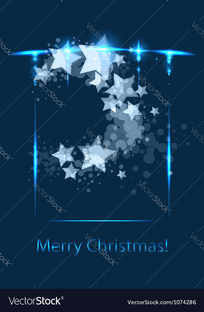Christmas card congratulatory template vector | Price: 1 Credit (USD $1)