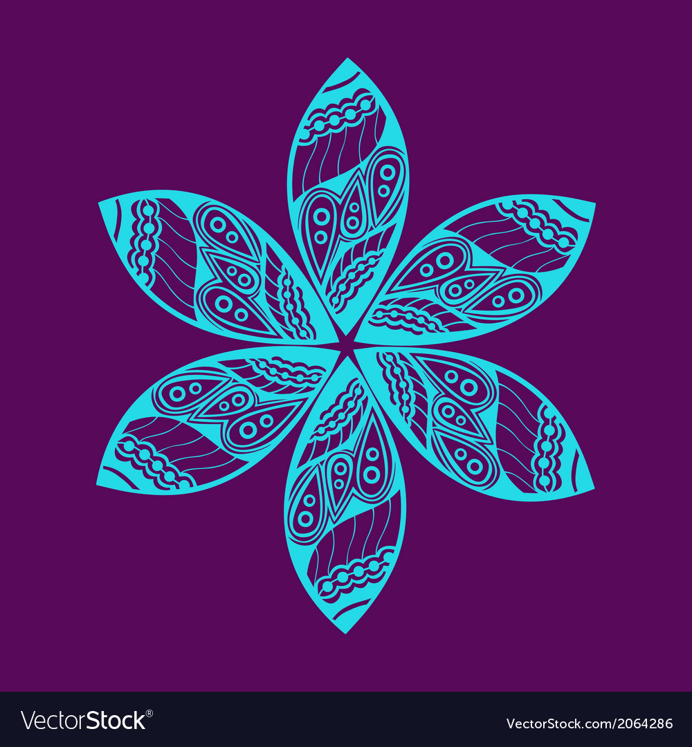 Floral ornament decoration vector | Price: 1 Credit (USD $1)
