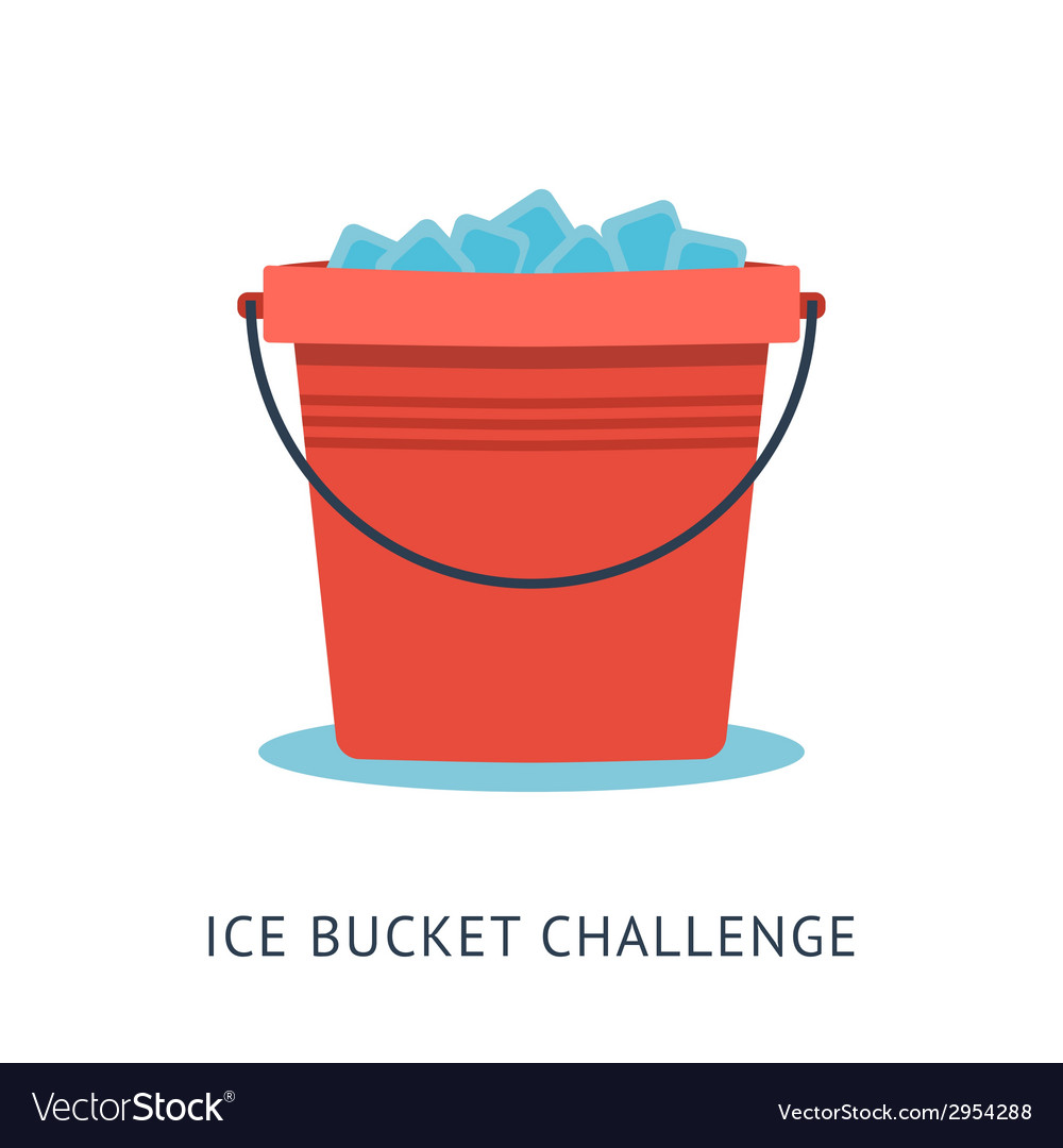 Als ice bucket challenge vector | Price: 1 Credit (USD $1)