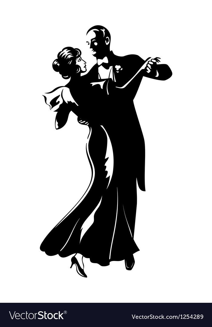 Dancing pair vector | Price: 3 Credit (USD $3)