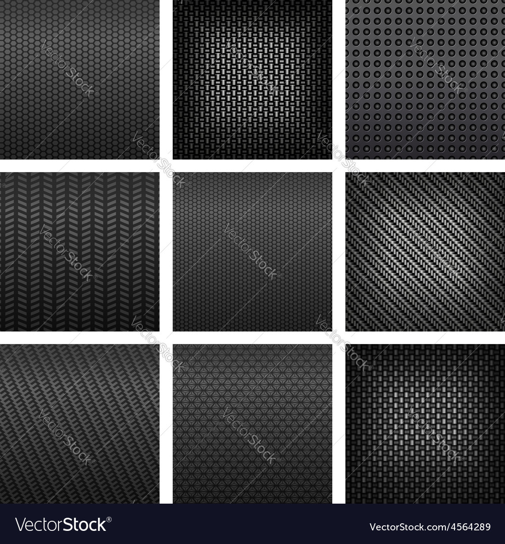 Gray carbon fiber and metallic textured pattern vector | Price: 1 Credit (USD $1)
