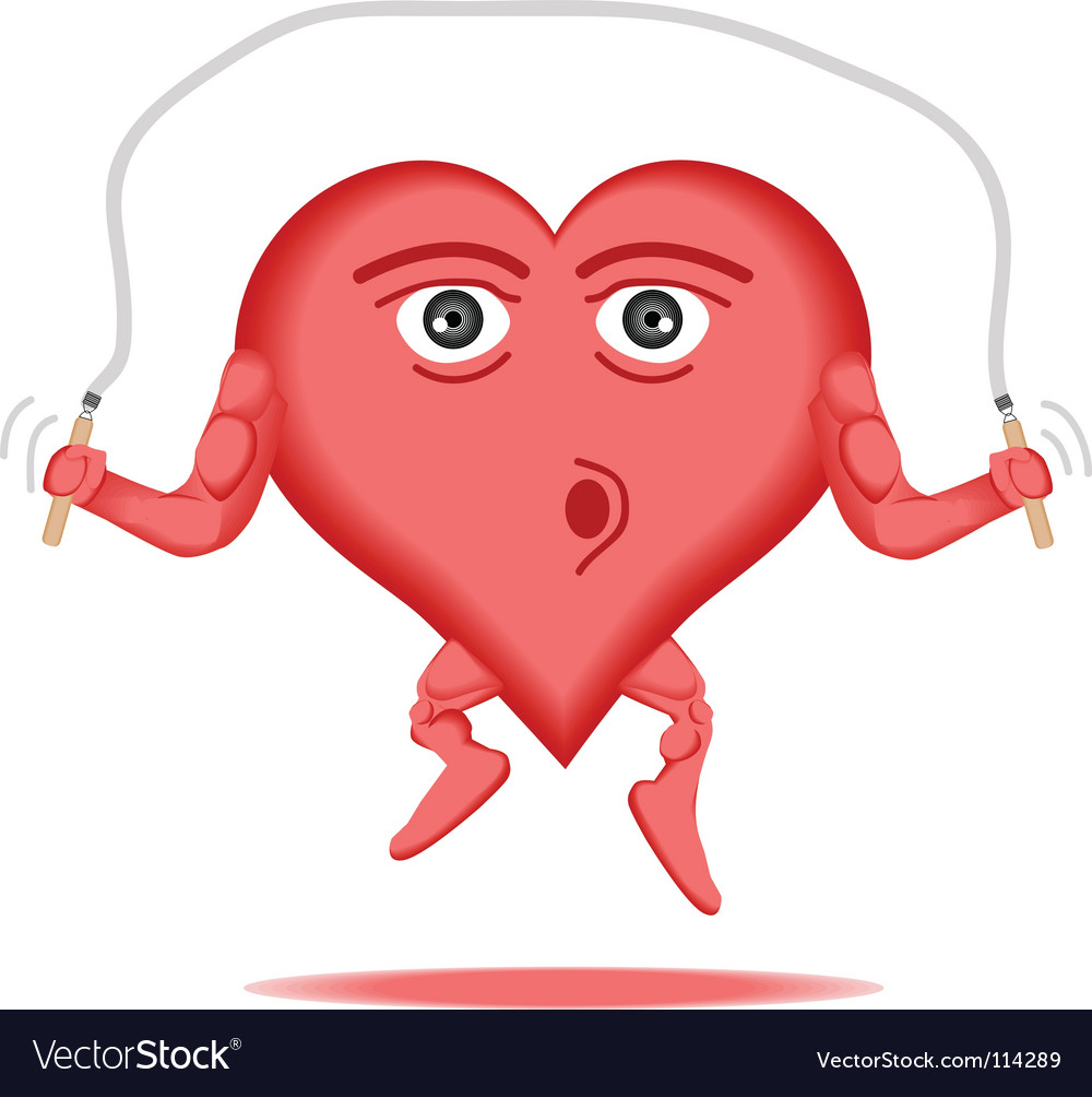 Heart healthy vector | Price: 1 Credit (USD $1)