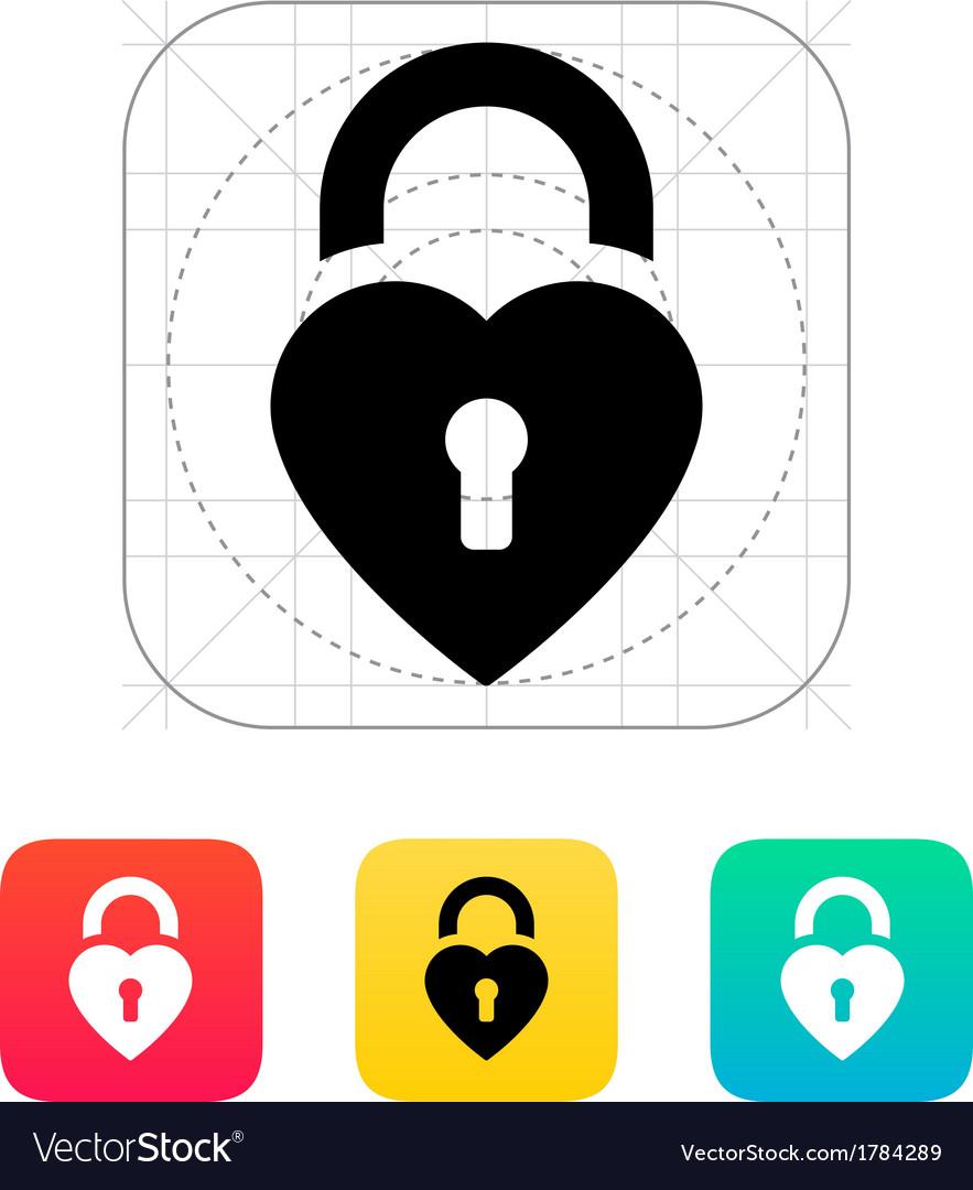 Padlock icon vector | Price: 1 Credit (USD $1)