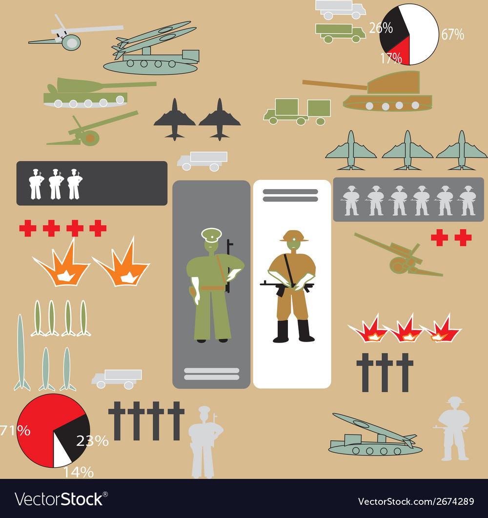 Soldiers vector | Price: 1 Credit (USD $1)