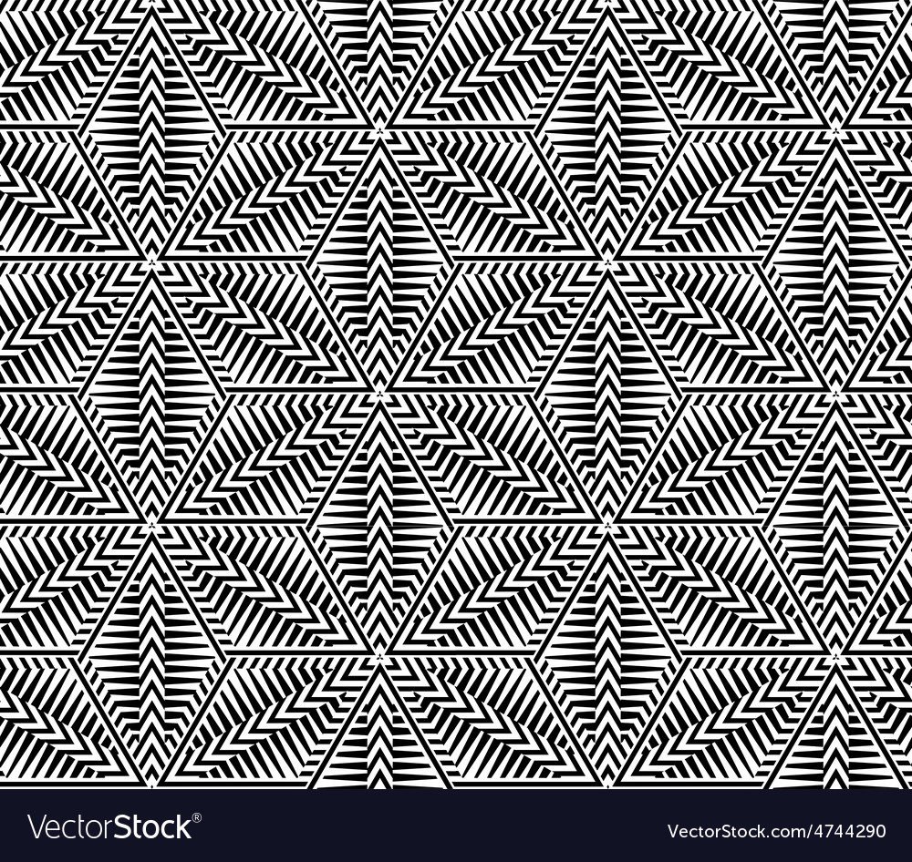 Abstract striped seamless pattern vector | Price: 1 Credit (USD $1)