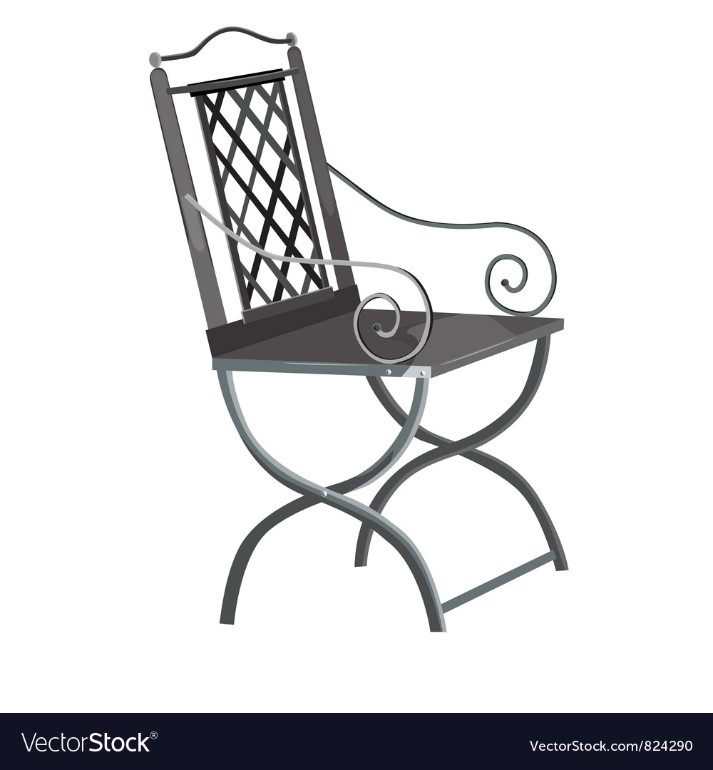 Forged chair vector | Price: 1 Credit (USD $1)