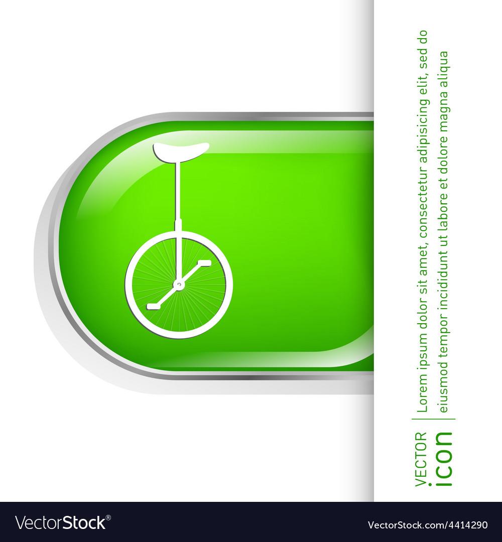 Retro bicycle icon vector | Price: 1 Credit (USD $1)