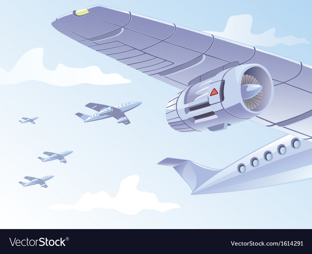 Airplane wing vector | Price: 3 Credit (USD $3)