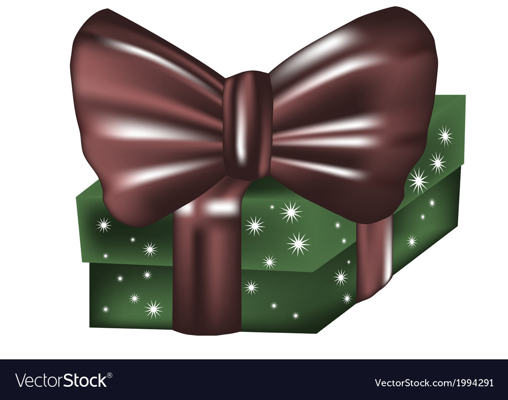 Box present vector | Price: 1 Credit (USD $1)